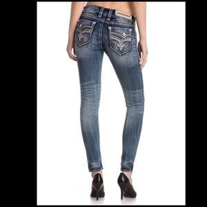 Rock Revival Jeans - Rock Revival Distressed Skinny Jeans